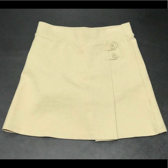 bd133ff3a Cat & Jack Bottoms | Girls S 66x Khaki Skort School Uniforms Euc ...